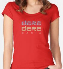 Dere Dere Anime and Manga Japanese Culture Women's Fitted Scoop T-Shirt