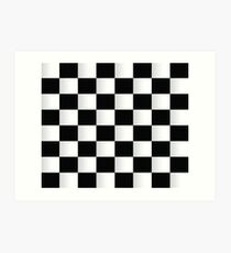 checkerboard design illustration wall art redbubble