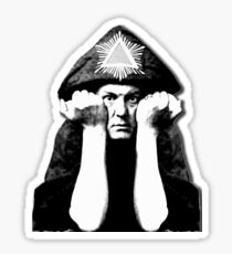 Aleister Crowley Sticker