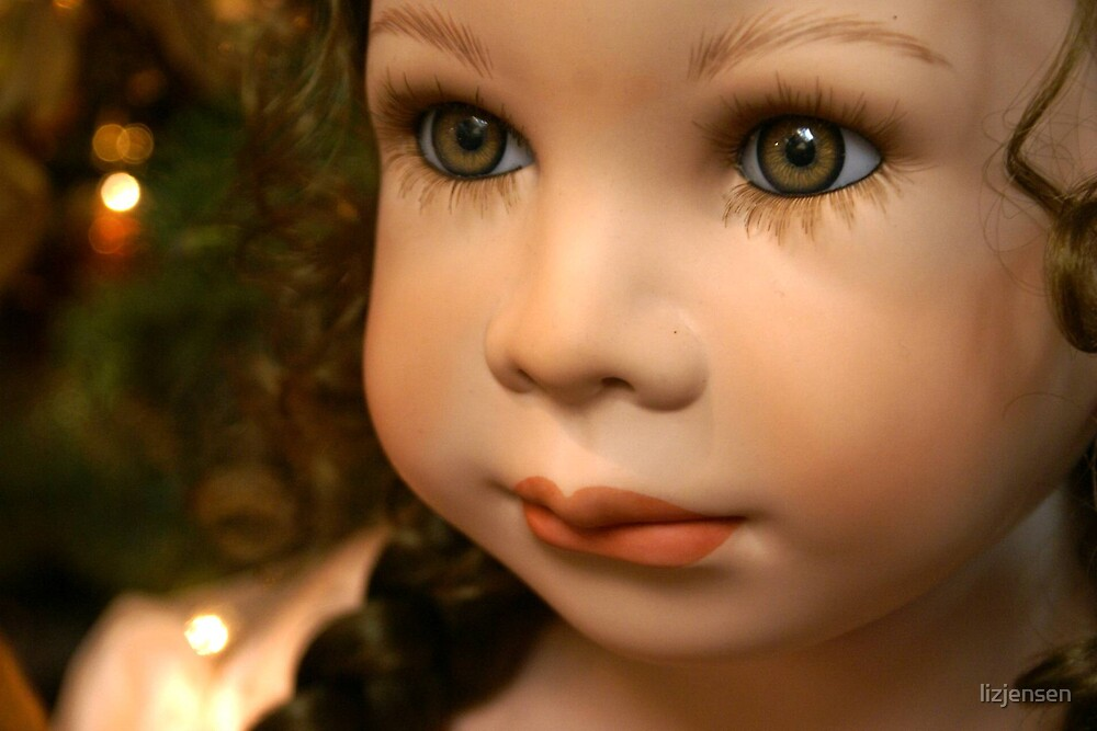 Christmas Doll by lizjensen