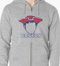 Boston Patriots Zipped Hoodie