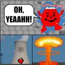Killer Kool Aid goes Nuclear by cartoon