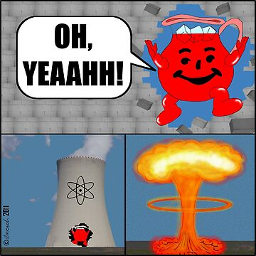 Killer Kool Aid goes Nuclear by cartoon