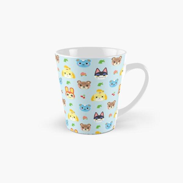 Animal Crossing Pattern - Blue Tall Mug