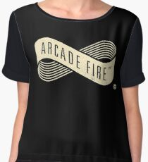 Arcade Fire Live On Stage Chiffon Top