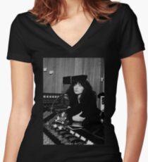 Kate Bush Studio Women's Fitted V-Neck T-Shirt