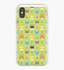 Tierkreuzungsmuster - Grün iPhone-Hülle & Cover