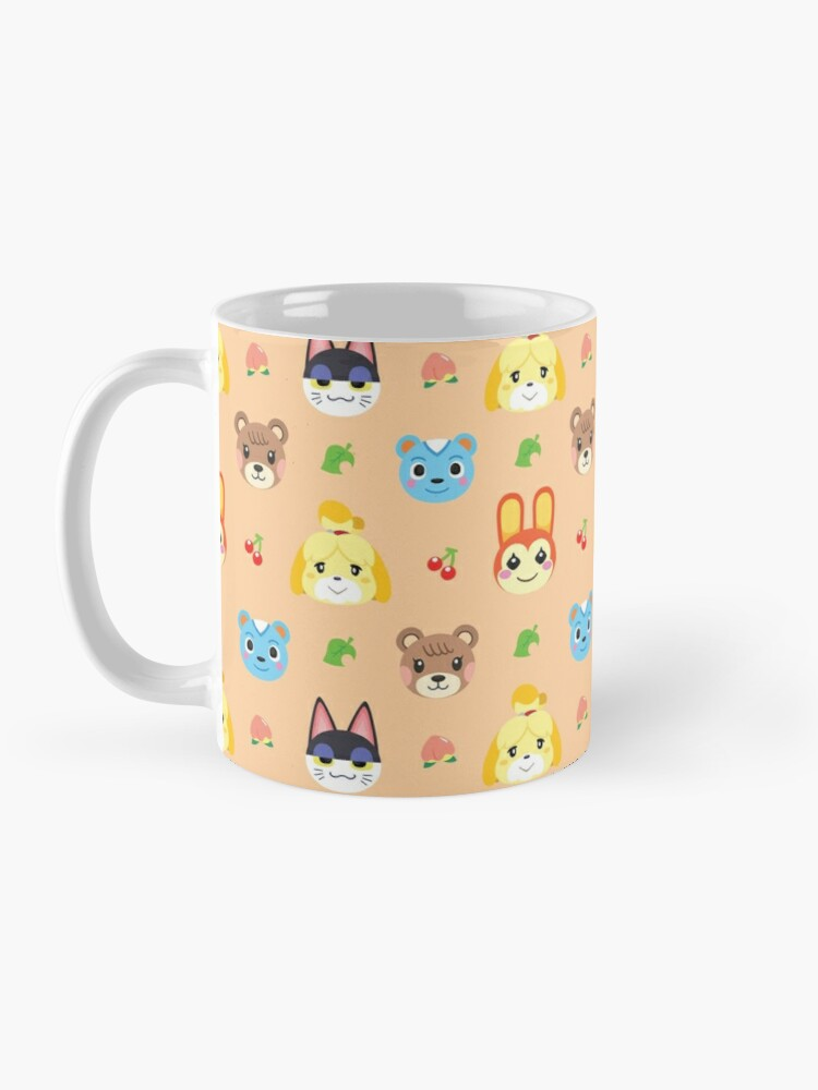 Alternate view of Animal Crossing Pattern - Peach Mug