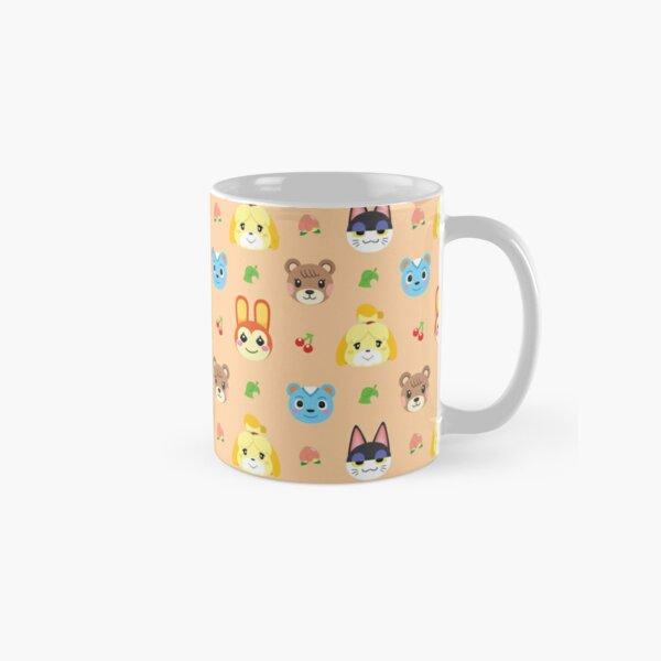 Animal Crossing Pattern - Peach Classic Mug