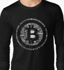 Promote Financial Freedom Bitcoin Cryptocurrency T-Shirt Long Sleeve T-Shirt
