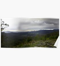 Marysville from Keppels lookout Poster