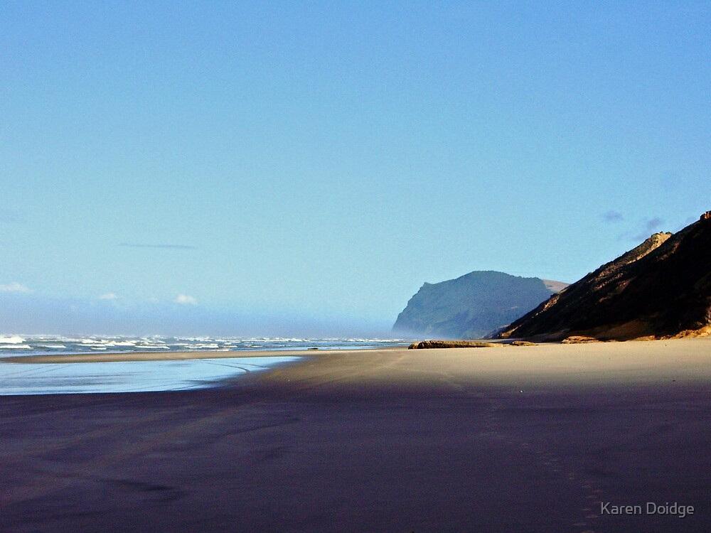 West Coast Beach, NZ by Karen Doidge
