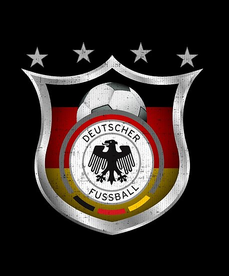 Germany Soccer Shield For World Cup Support Posters By Fermo