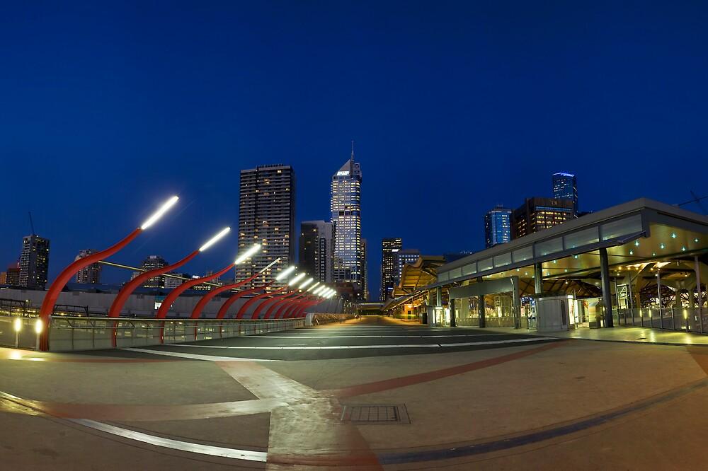 Little Bourke St Overpass, Melbourne by Michael Bates