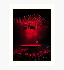 Kanye West Saint Pablo Tour Art Print