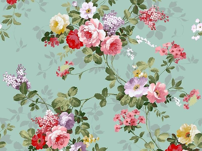 Vintage floral ringtures #10