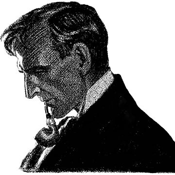 Sherlock Holmes Profile by Frederic Dorr Steele by InfernoFilm