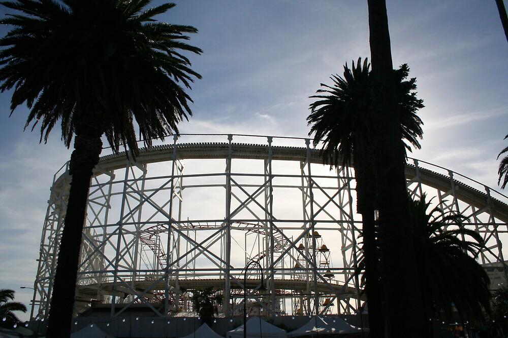 Luna Park Melbourne Victoria Australia by Rupert Russell