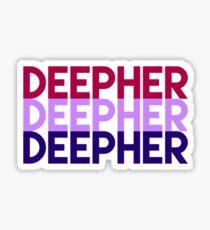 Deepher x3 Sticker