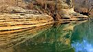 Gar Hole, War Eagle River by NatureGreeting Cards ©ccwri