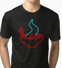 Spicy Ramen Noodles Neon Tri-blend T-Shirt