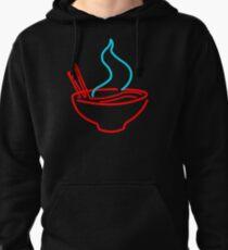 Spicy Ramen Noodles Neon Pullover Hoodie