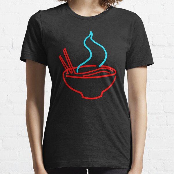 Spicy Ramen Noodles Neon Essential T-Shirt