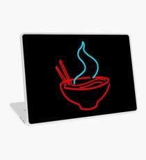 Spicy Ramen Noodles Neon Laptop Skin