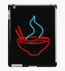 Spicy Ramen Noodles Neon iPad Case/Skin