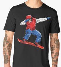 Dabbing Snowboarder T shirt Snowboarding Snowboard Winter Sport T-shirt Men's Premium T-Shirt