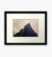Big City Skyline........the pastel set  # three Framed Print