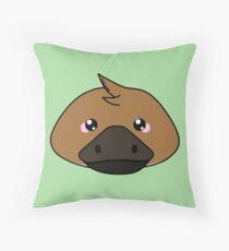Platypus - Australian animal design Throw Pillow