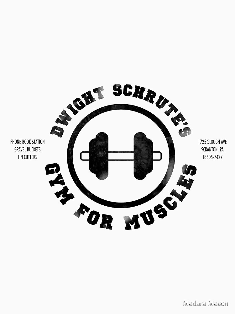 Dwight Schrute's Gym for Muscles by madaramason
