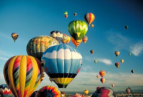 Albuquerque Balloon Fiesta #1 by blakbear97