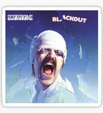 Scorpions - Blackout Sticker