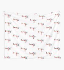 Rescue Helicopter  Wall Tapestry