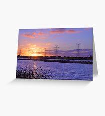 Champion Lake Sunset  Greeting Card