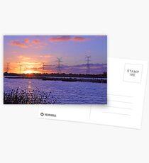 Champion Lake Sunset  Postcards
