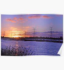 Champion Lake Sunset  Poster