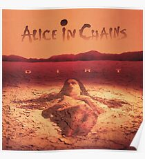 Alice In Chains - Dirt Poster