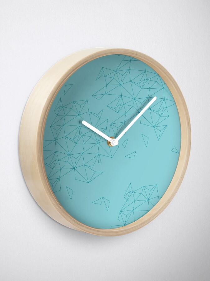 Alternative Ansicht von geometric landscape Uhr
