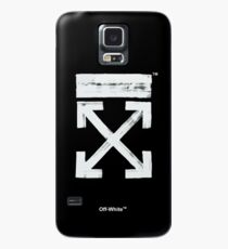 Off-White Brush Arrows Case/Skin for Samsung Galaxy