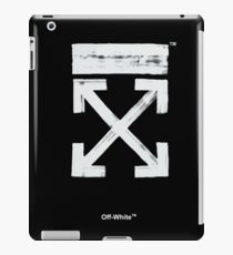 Off-White Brush Arrows iPad Case/Skin