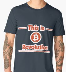 B Revolution -Red Men's Premium T-Shirt