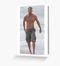 Channing Tatum  Greeting Card