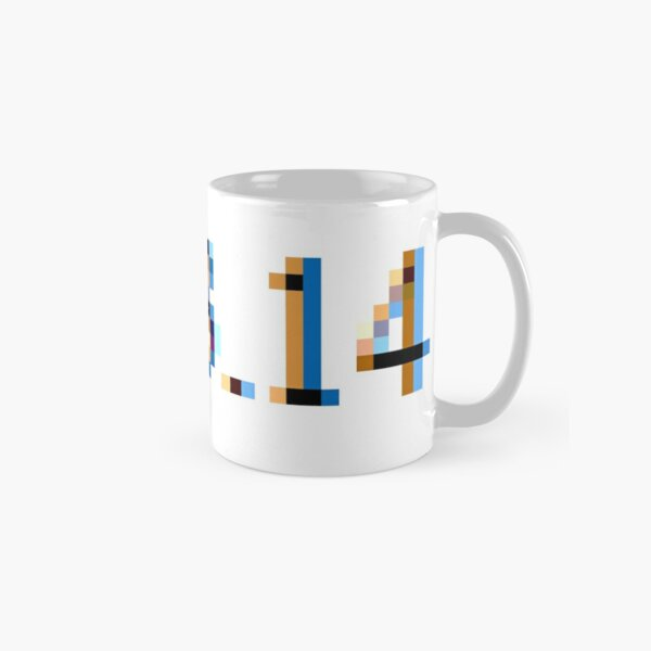 π - pi Classic Mug
