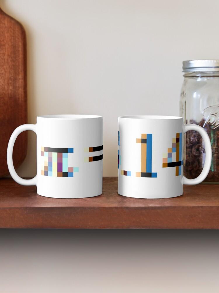 Alternate view of π - pi Mug