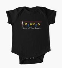 Song of Time Lords Kids Clothes