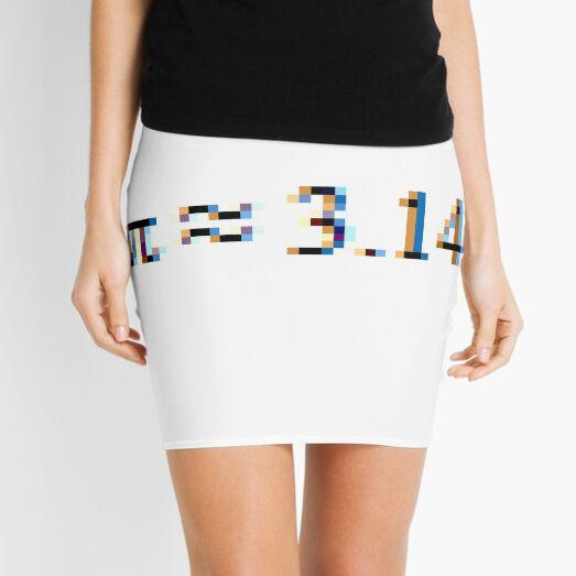 π ≈ 3.14 Mini Skirt