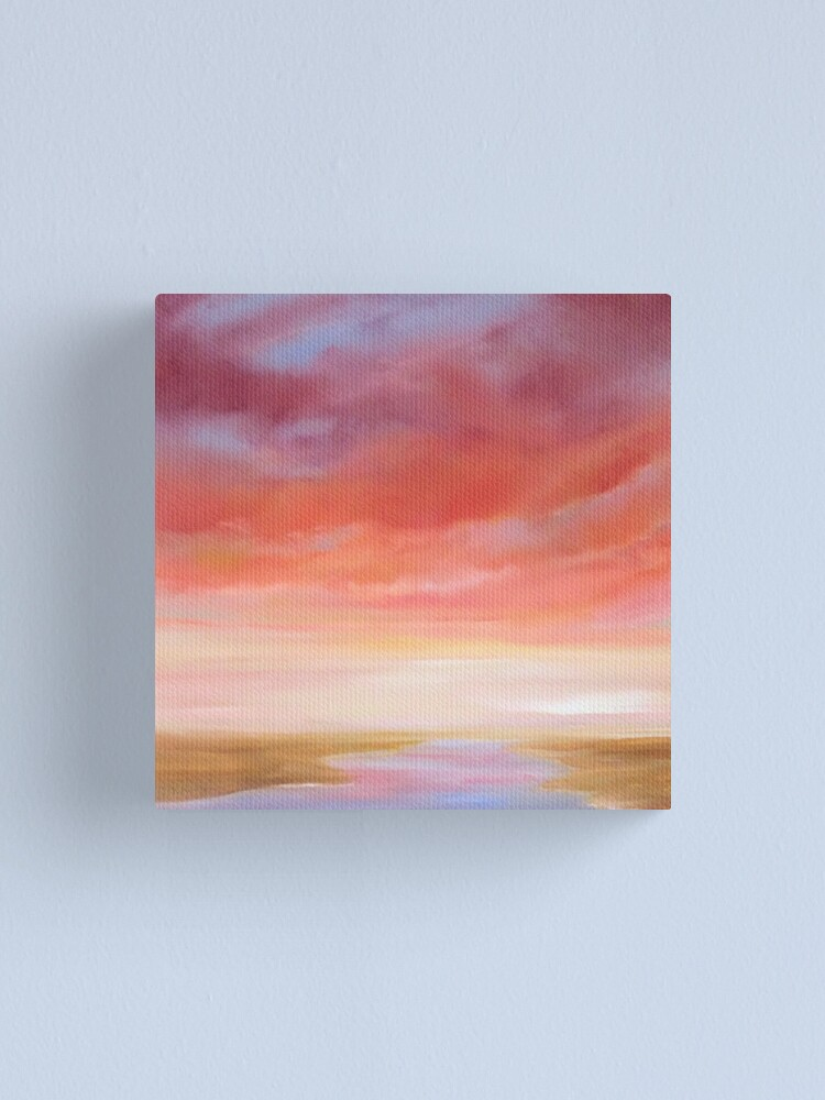 Alternate view of First Blush Canvas Print
